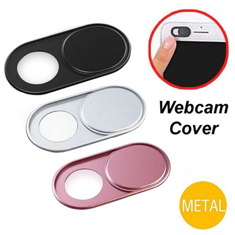 1/3/6 Pcs! Webcam Abdeckung Anti Spy Upgrade Metall Material Telefon Datenschutz Aufkleber Privatsphäre für iPhone Smartphone Laptop PC Tablet len