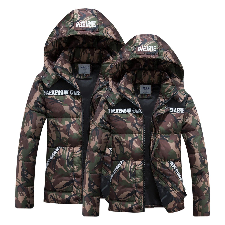 Мужское зимнее пальто с капюшоном, хлопковое пальто, камуфляжный хлопковый костюм, мужские парки, мужское зимнее пальто с капюшоном, пухови...
