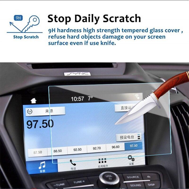 175x105 мм для Ford Everest, закаленное стекло, Автомобильная Мультимедийная магнитола, экран дисплея, защитная пленка, защитная наклейка