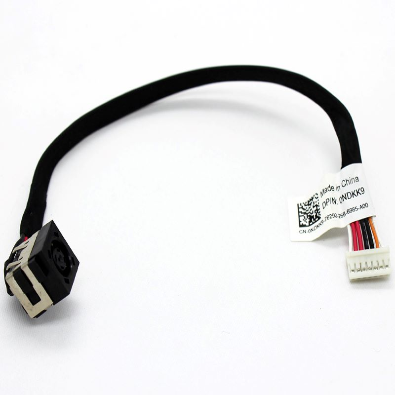 For Dell Latitude E5420 E5520 E5520M 0NDKK9 Laptop DC In Power Jack Cable Charging Port Connector