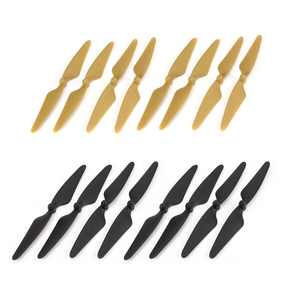 8 Pairs CW/CCW Propellers Props Blade RC Spare Part for Hubsan H501S H501C H501A H501M 501 RC Quadcopter Drone Aircraft New 2021 10 pairs cw ccw propellers mini props blades spare parts accessories for xiaomi mitu rc fpv drone quadcopter aircraft uva