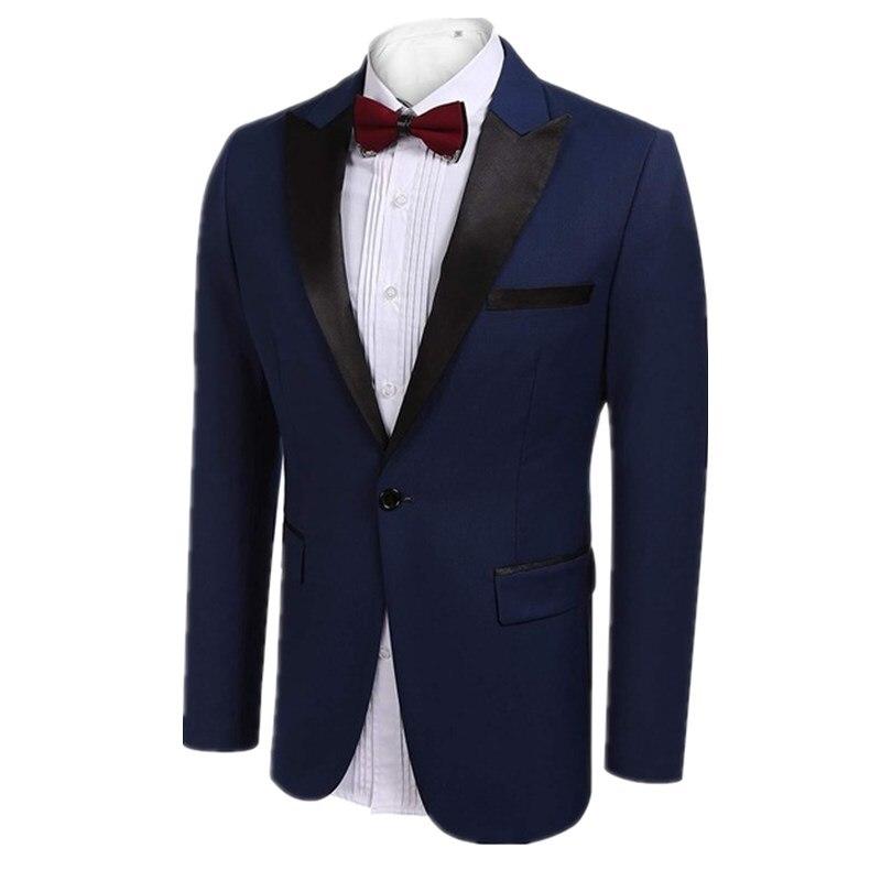 ملابس رجالي من MyLoddy ملابس غير رسمية للعرسان ملابس رجالي بدلة ضيقة سترة زي للمسرح المغني (سترة واحدة)