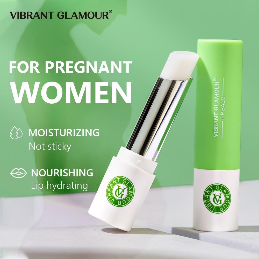 AliExpress - VIBRANT GLAMOUR Lip Blam Plant Essence Nourishing Moisturizing Brightening Plump Lipstick Lighten Prevent Chapped Lip Deep Care
