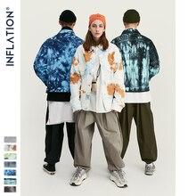 INFLATION Design Tie Dye Denim Jacket Men 2020 FW Streetwear Oversize Jeans Jacket Men Hip Hop 100% Cotton Men Outerwear 9745W