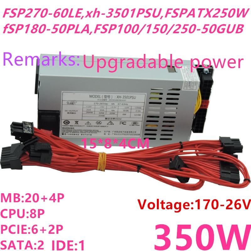 New Original PSU For Xinhang FLEX ITX K39 35 E200 Small 1U Rated 350W Peak 400W Power Supply XH-3501PSU FSP270-60LE FSP250-50GUB new psu for xinhang flex itx k39 k35 s3 e200 small 1u rated 350w peak 400w power supply xh 3501psu fsp270 60le fsp250 50gub