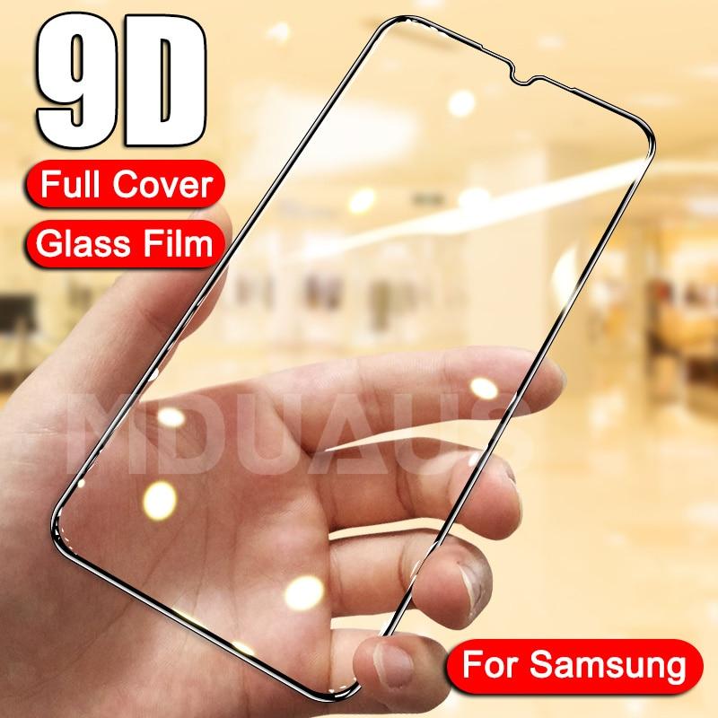 Cristal templado 9D para Samsung Galaxy A02, A12, A32, A42, A52, A72, F41, F62, Protector de pantalla, cristal Protector, cristal Protector, M02, M12, A01, A51, A71