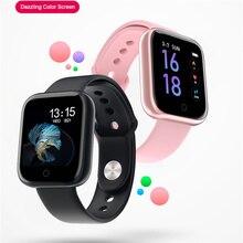 T80 akıllı saat su geçirmez akıllı bilezik aktivite spor izci nabız monitörü Band erkekler kadınlar smartwatch VS Q9 B57 P70
