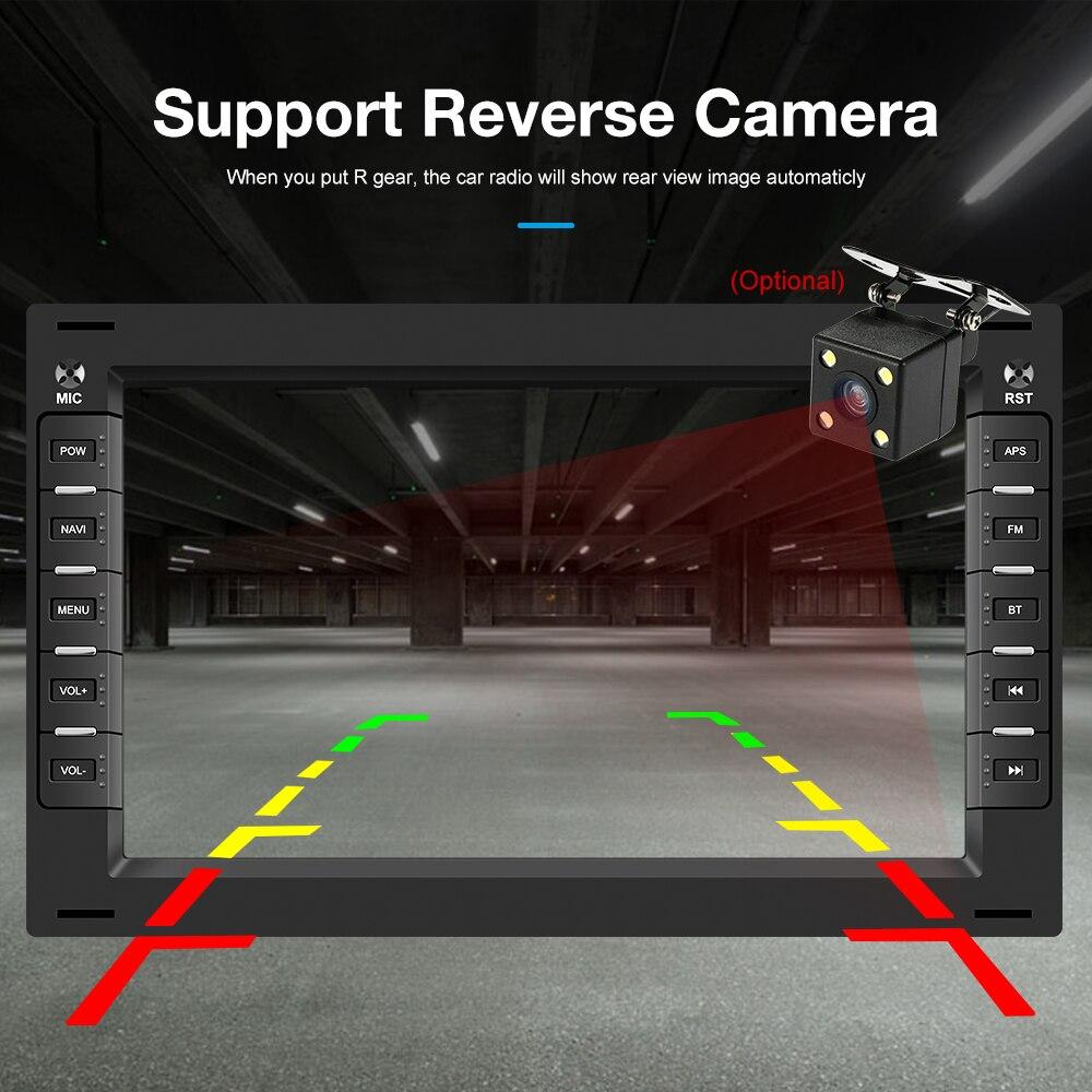 Podofo 2 din Android 8.1 Car Radio GPS Multimedia Player For VW Volkswagen GOLF POLO TRANSPORTER Passat b5 BORA MK5 SHARAN JETTA