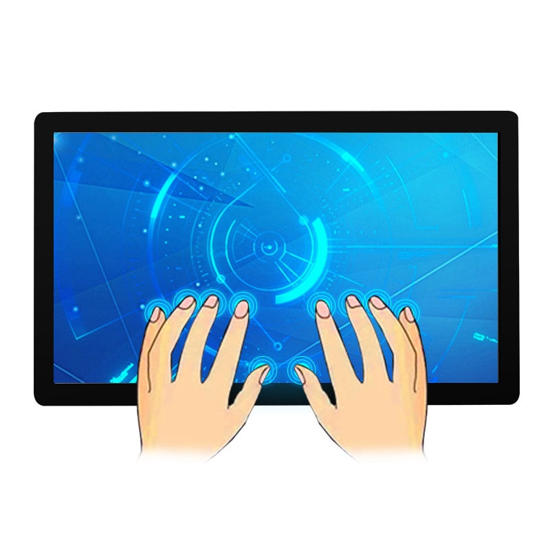 18.5 Inch Lcd hd Monitor HDMI VGA DVI USB LCD Screen Monitor for Tablet 1366*768 Capacitive Touch Screen Industrial LCD display