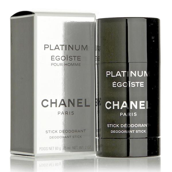 Palillo desodorante égoiste Platinum Channel (75 ml)