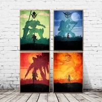 canvas painting anime gundam modern wall art poster nordic hd print picture living room bedroom home decor collection art frame