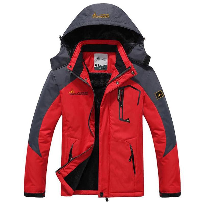 Winter Parka Men Windbreak Plus Velvet Thick Warm Windproof Fur Coats Male Military Hooded Anorak Jackets Men\'s Winter Jackets