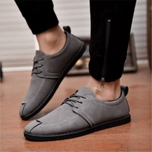 Men Casual Fashion Men Casual Shoes Leather Handmade Breathable Man Shoes Luxury Brand Mens Loafers