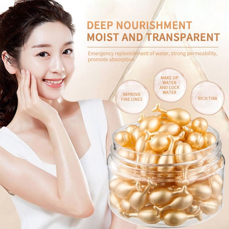 Capsules Face Serum Spot Acne Remover Whitening Anti-Wrinkle Ageless Essence Face Cream Skin Care Pr