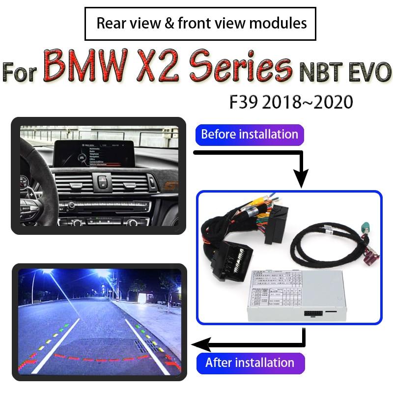 Décodeur de caméra arrière pour BMW X2 F39 NBT EVO   Écran dinterface 2018 ~ 2020, Module dadaptateur de mise à niveau décran de voiture dorigine
