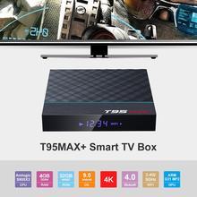 T95 MAX Plus Android 9.0 Smart TV BOX Amlogic S905X3 4G RAM 32G ROM 5G double WIFI BT4.0 USB 3.0 HDR 8K décodeur lecteur multimédia