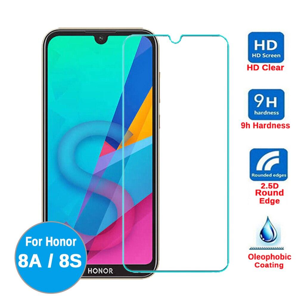 Para huawei honor 8s 8c 8 8a pro 8x max película protectora de vidrio templado protector de pantalla de teléfono honor 9x pro en vidrio smartphone