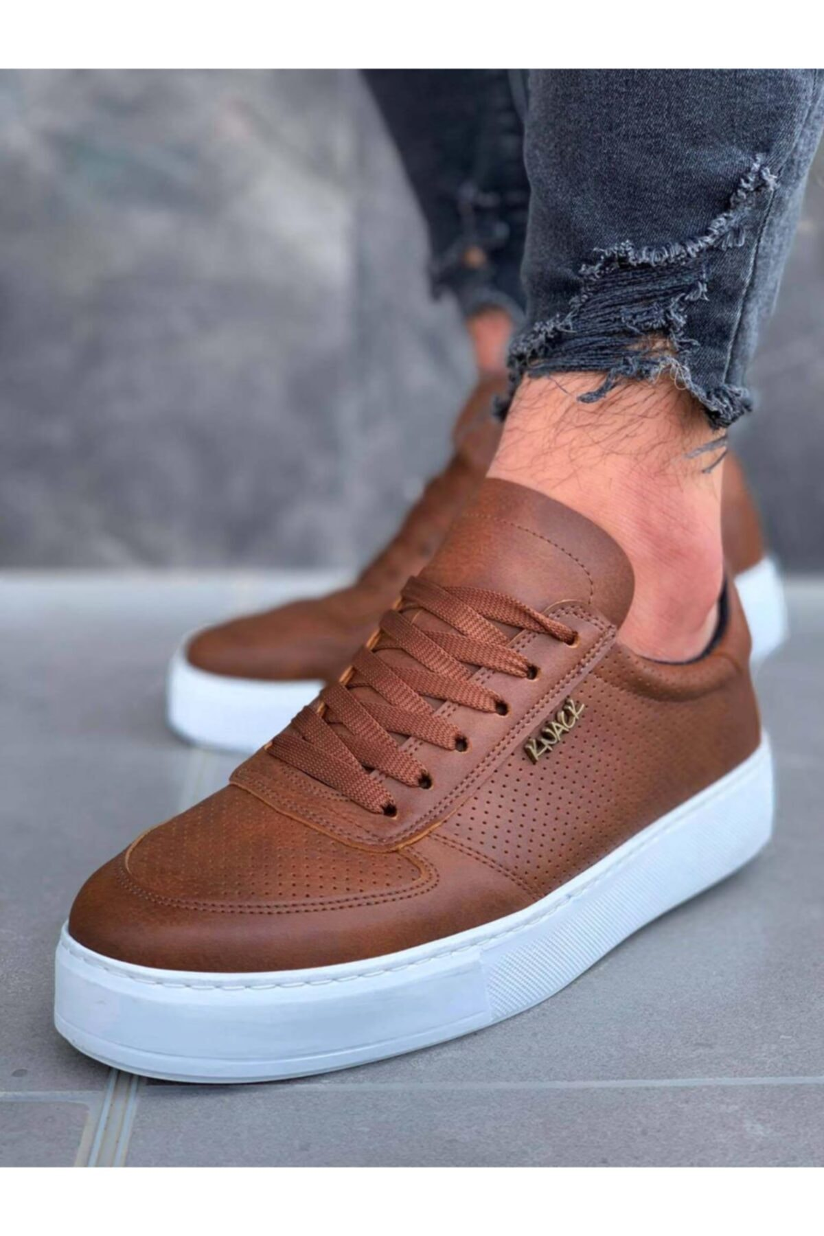 اليومية أحذية 011 6 اللون الرجال خفيفة الوزن عارضة الشبان حذاء رياضة موضة chaussure أنيق تصميم