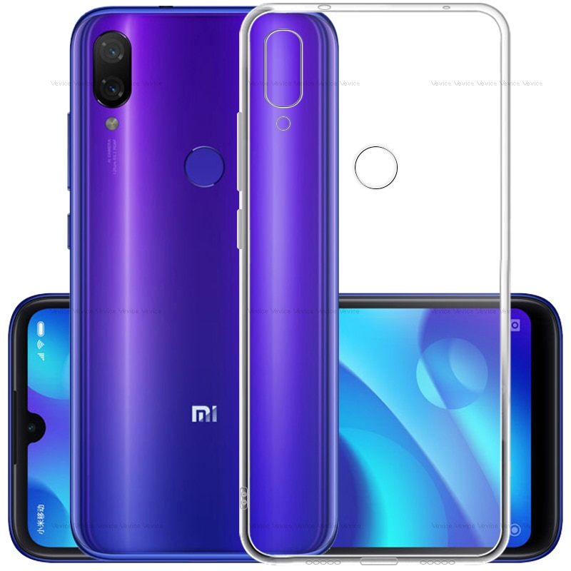 Funda de teléfono ultrafina para Xiaomi Redmi Note 8 7 5 6 Pro 8T contraportada en Redmi 8 8A 7 7A K20 6 Pro 6A 5 Plus 4 4X funda de silicona