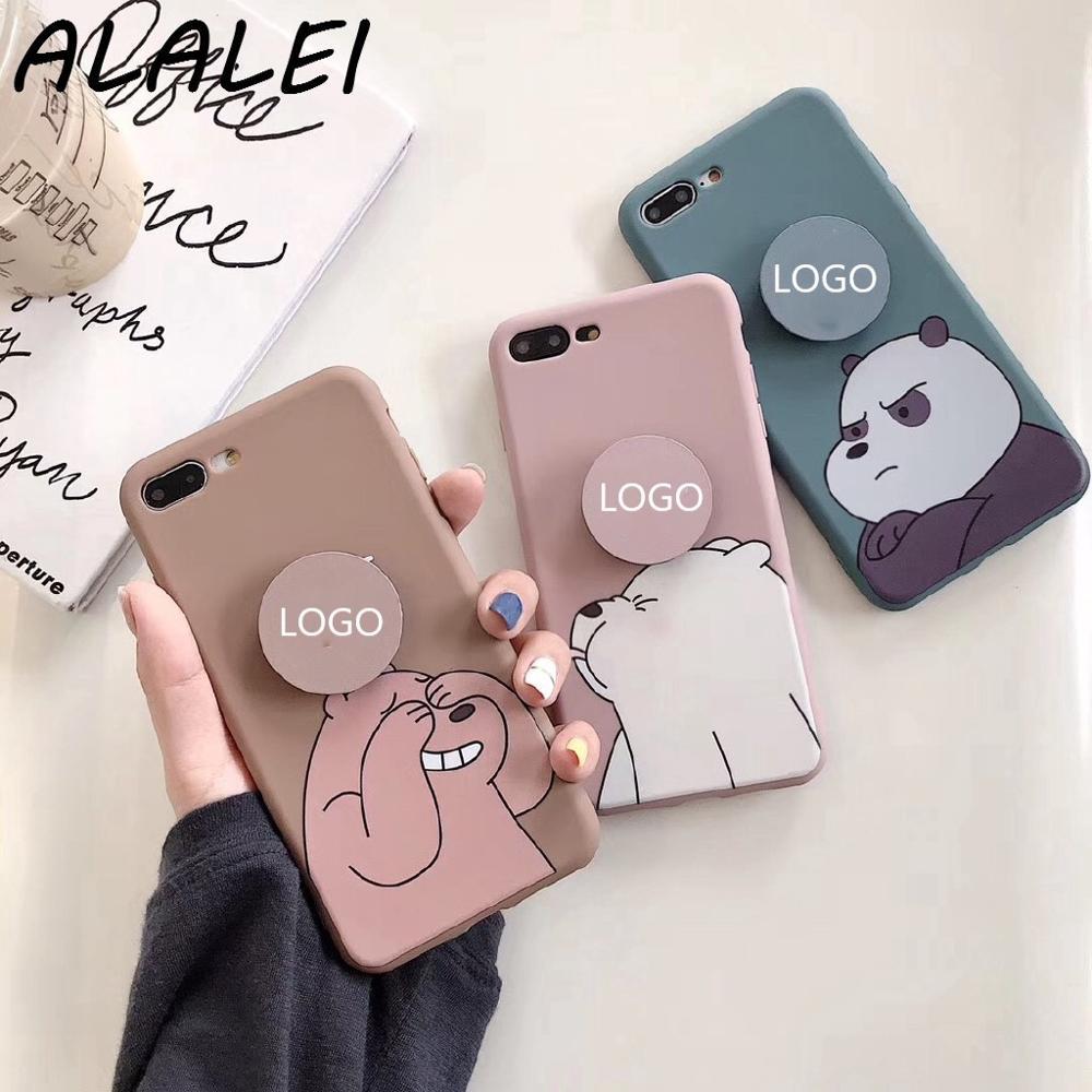 Cartoon Cute Phone Case for Realme 6 Pro 5 C15 C12 C11 C3 C2 Oppo A31 A9 A5 2020 A92 A83 A52 A12 A12