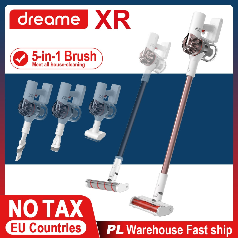 Dreame XR Premium Hand Held Wireless Household Vacuum Cleaner HEPA Sweep Suction Floor Cleaning Cordless Electric Broom for Home