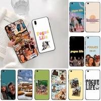 pogves life soft silicone tpu phone cover for vivo y91c y17 y51 y67 y55 y93 y81s y19 v17 vivos5
