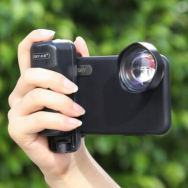 Selfie impulsionador alça bluetooth foto titular stablizer com liberação do obturador para o iphone x 8 7 para xiaomi para huawei/samsung