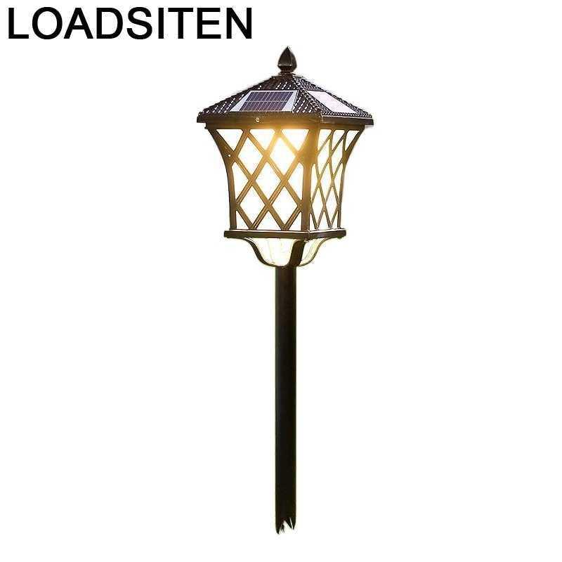 Lampa Ogrodowa Tuinlamp Luce Para Exterior Tuinverlichting Lighting Lumiere Exterieur De Jardin Lamp LED Outdoor Garden Light