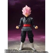 Dragon Ball Super Goku noir SHF SSJ Rose Zamasu les élus mobiles PVC figurine modèle jouets
