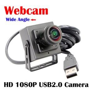 HD 2MP CCTV Security Webcam 1080P Mini CMOS OV2710 UVC OTG 30fps 5MP 1.8mm fisheye lens 170degree USB 2.0 CCTV Camera