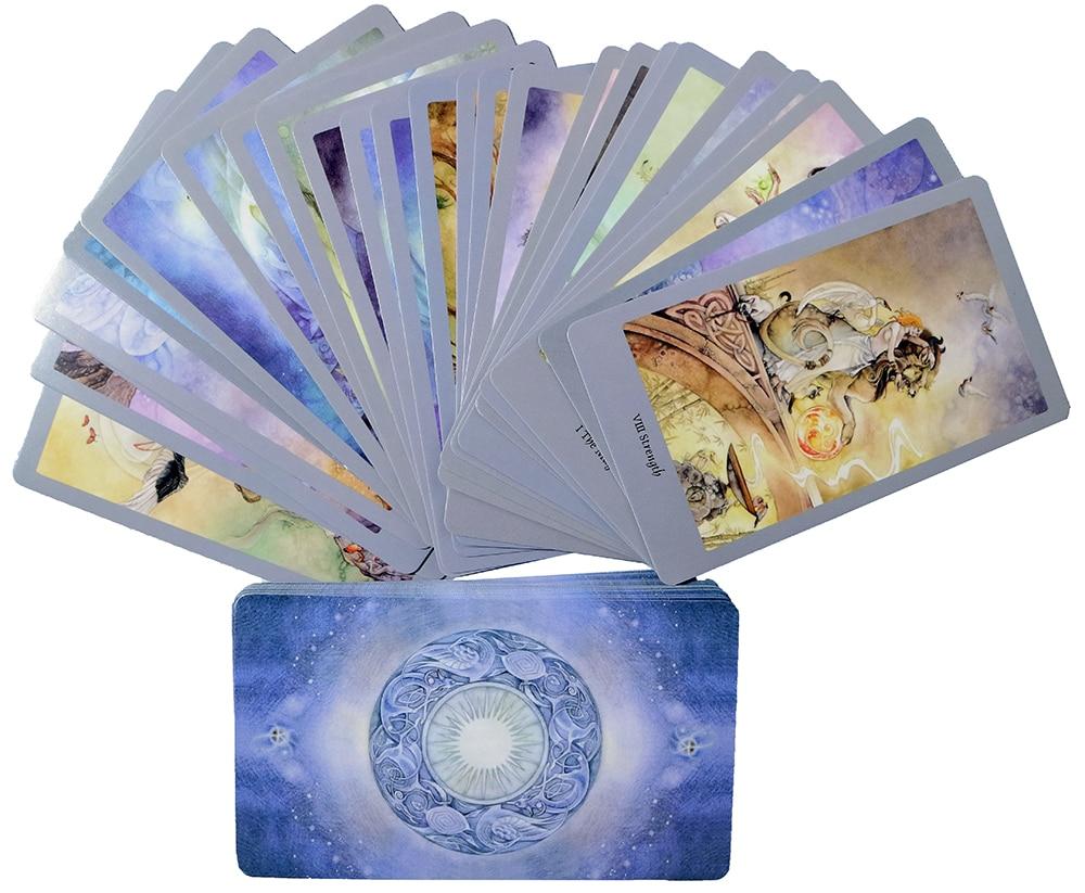 Карты Shadow Tarot.78 устанавливают карты Tarot. Карты для вечерние, настольная игра, мистическое гадания, карты с изображением ораклов, настольная и...