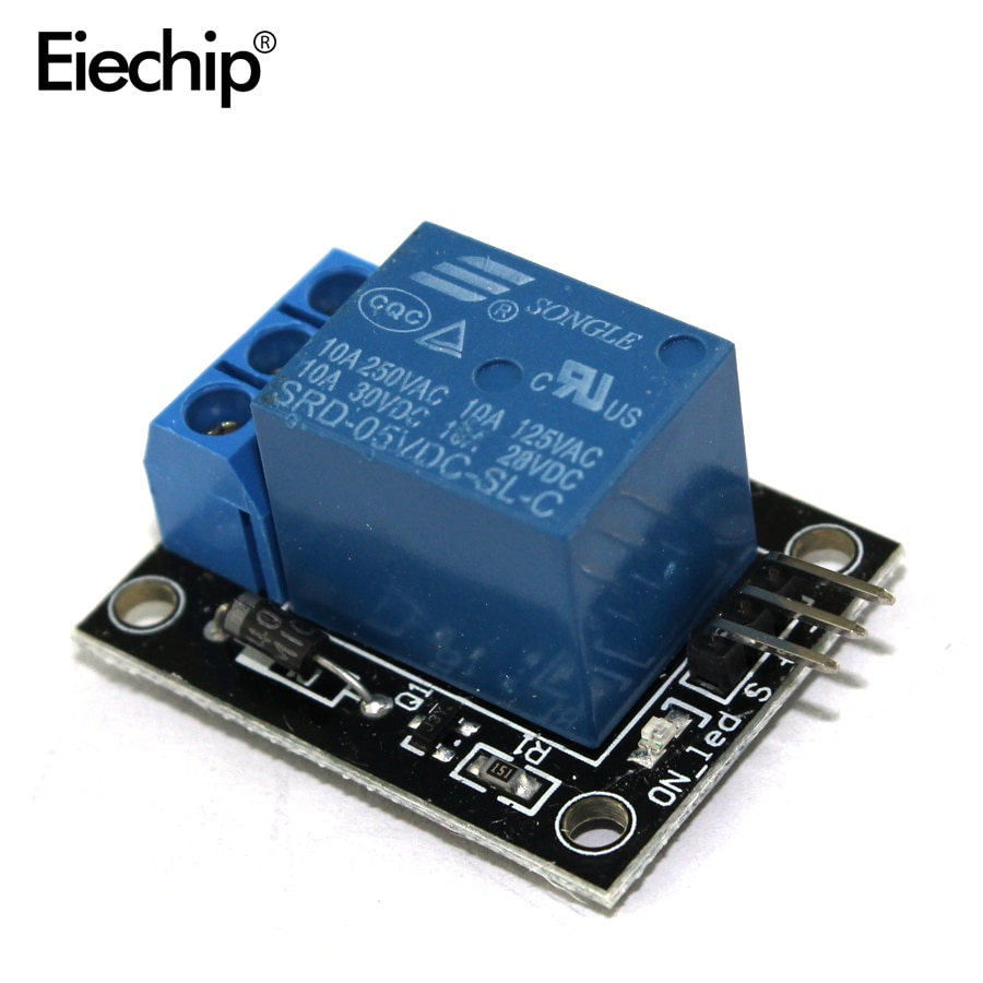 1pcs KY-019 5V One 1 Channel Relay Module Board Shield For PIC AVR DSP ARM for arduino Relay diy kit ky019