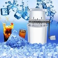 kitchen supplies manual ice crusher shaver shredding machine hand snow cone transparent ice machine ts2 margaritas fun drinks