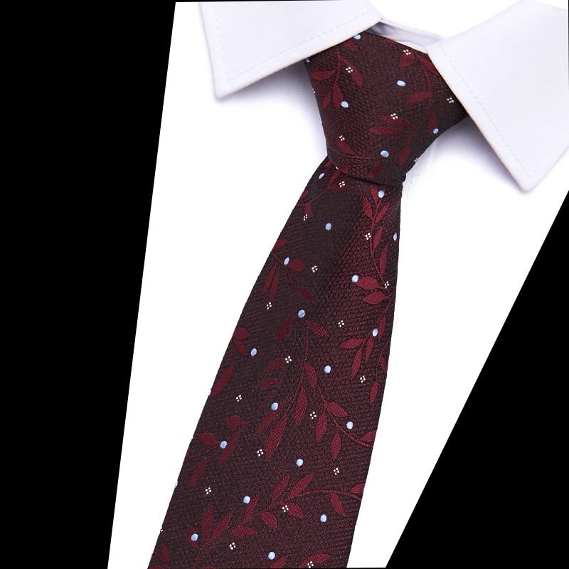 Italian Floral Ties For Men 7CM Slim Fashion Daily Casual Men's Neckties Wedding Party Business Shirt Accessories Neck Ties недорого