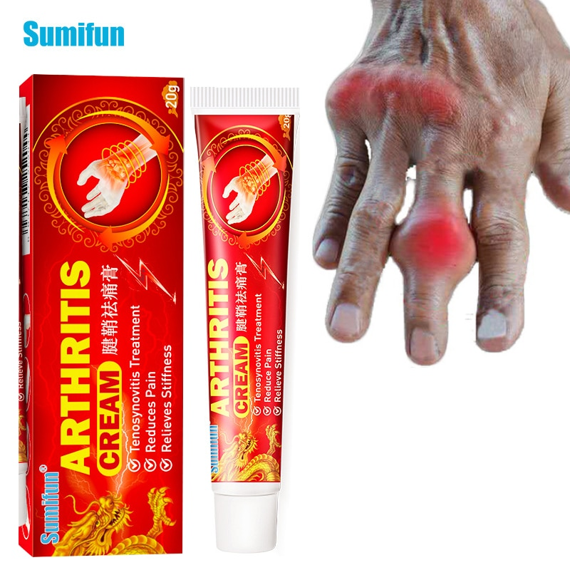 1Pc Anti Arthritis Joint Pain Relief Ointment Tenosynovitis Care Sports Support Cream Therapy Chines