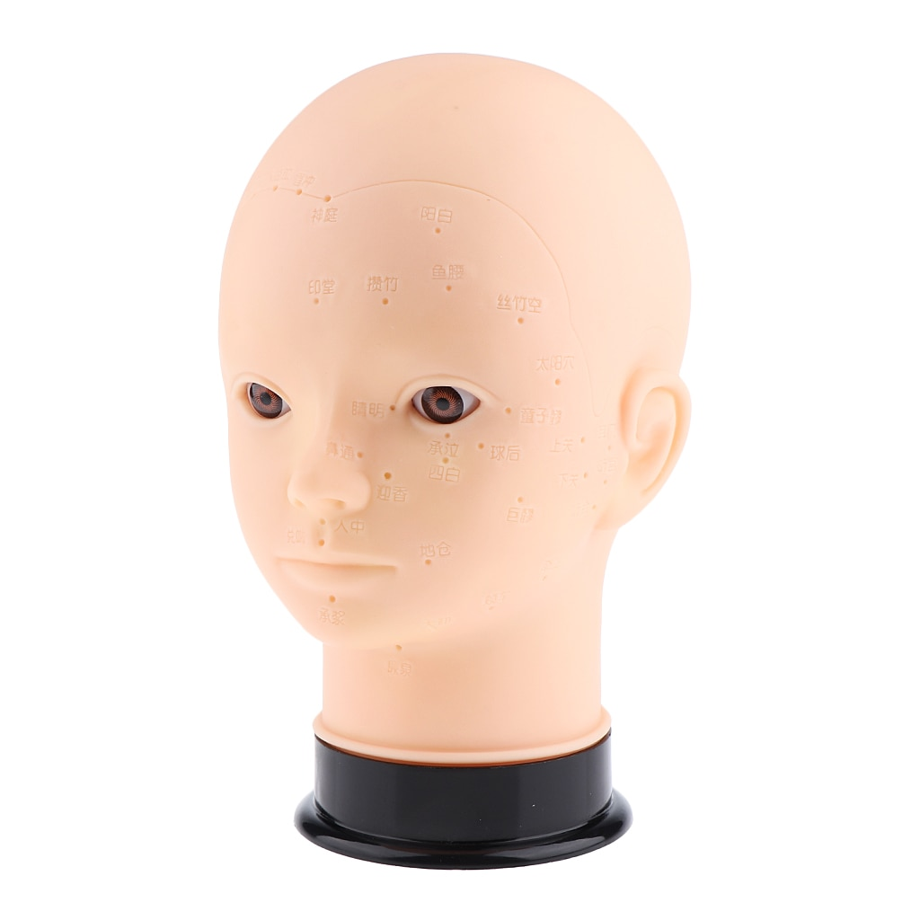 Cosmetology Mannequin Training Head Makeup Massage Practice Head Wig Making enlarge