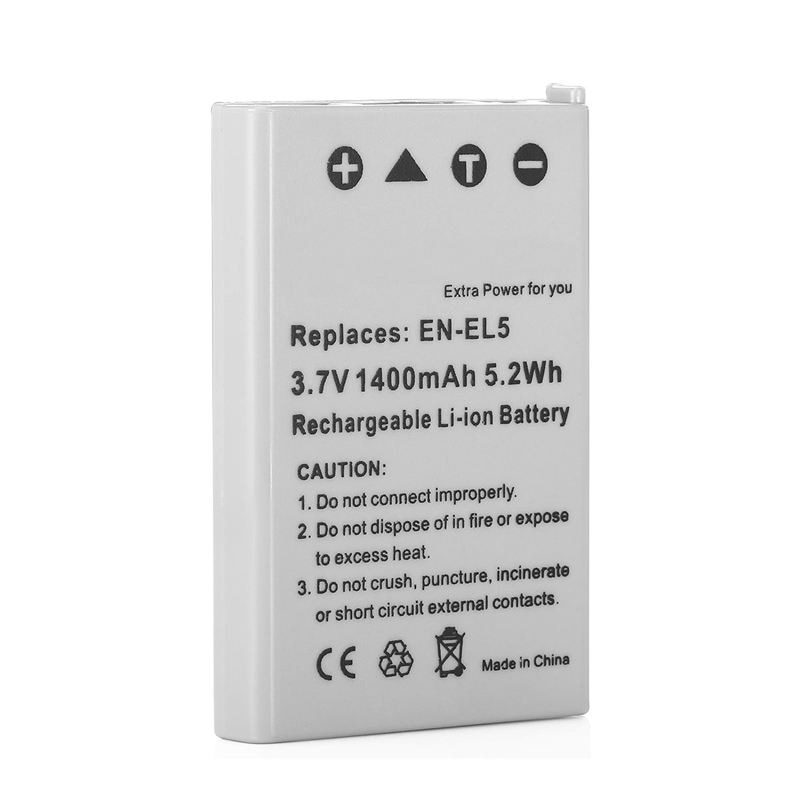 3,7 V batería para Nikon Coolpix P500 P510 P520 P530 P80 P90 P100