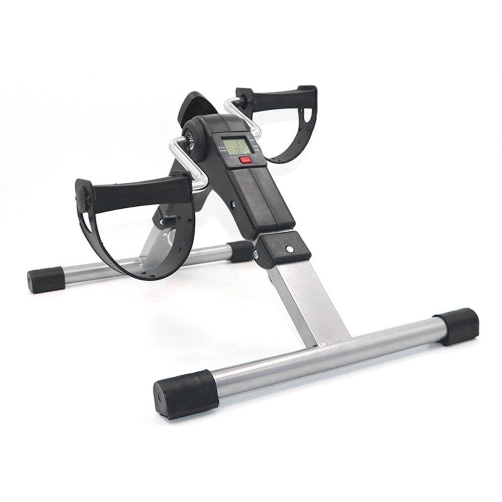 Mini Practical Trainer Bicycle Leg Exerciser Stroke Stepper Hemiplegia Rehabilitation Fitness Workou