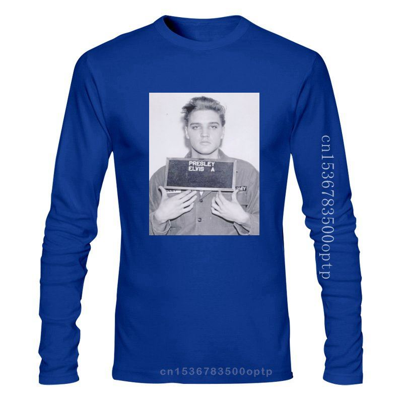 Elvis Aaron Presley Mugshot King Of Rock 80' Prison Men Unisex T-shirt 20