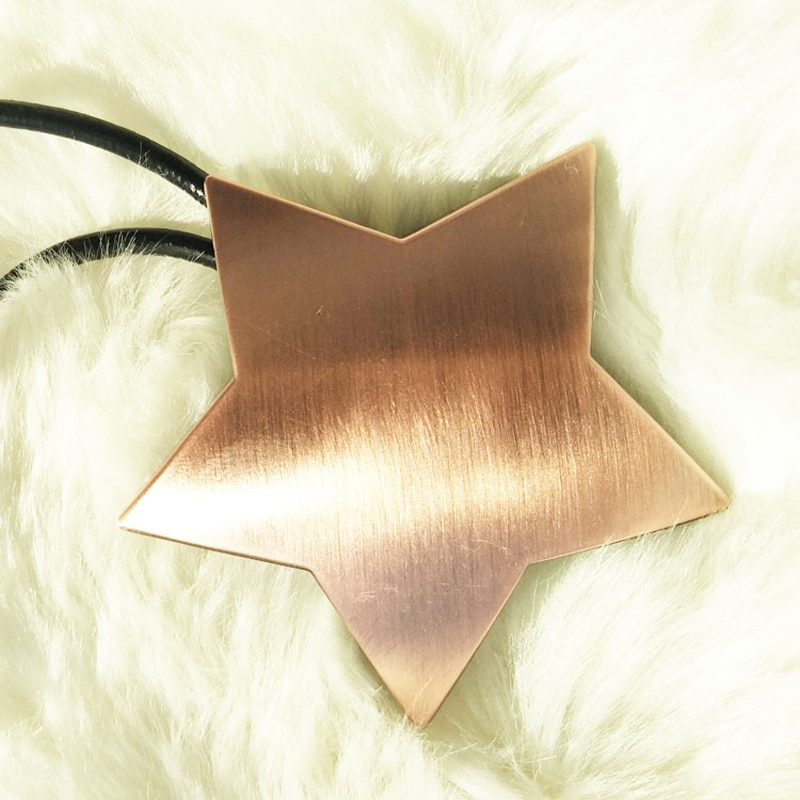 Luck Star Magnetic Tie Back Holder Curtain Buckle Star Curtain Broach Home Room Curtain Pendant Decoration Gold