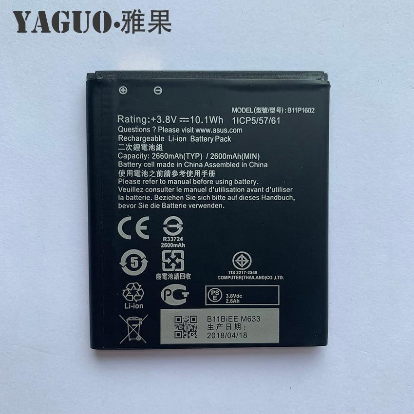 Batería 100% Original de 2660mAh para teléfono móvil ASUS Zenfone B11P1602, Go...