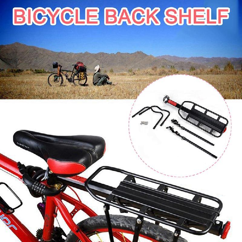 "Accesorios para bicicleta tour de Ciclismo de 110lbs rápido espalda ajustable Rack carga marco Montado en Rack de 24 ""-29"""