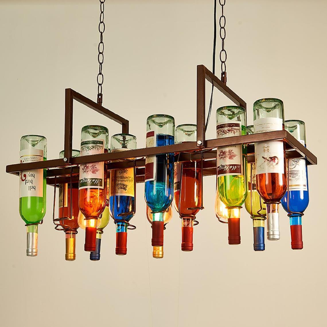Kunst Luxus Hotel der Neue Bar Lampe Dekoration Bier Flasche Dekorative Restaurant Hairdry Haus Lampen Esszimmer Lichter