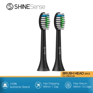 ShineSense Sonic Toothbrush Replacement Brush Heads for STB-600