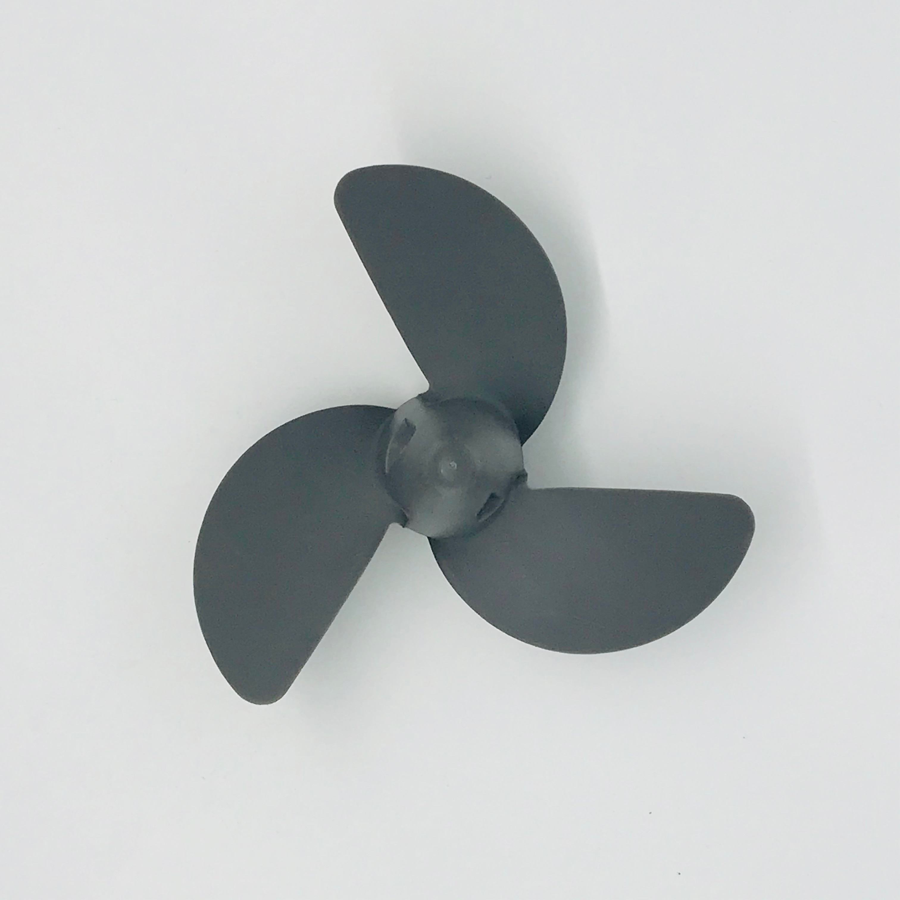 Captain Propeller 7 1/4 x 4 3/4 58130-ZV0-841ZB Fit Honda Outboard Engine BF2 / BF2.3 HP *NH283* (STIN GRAY)