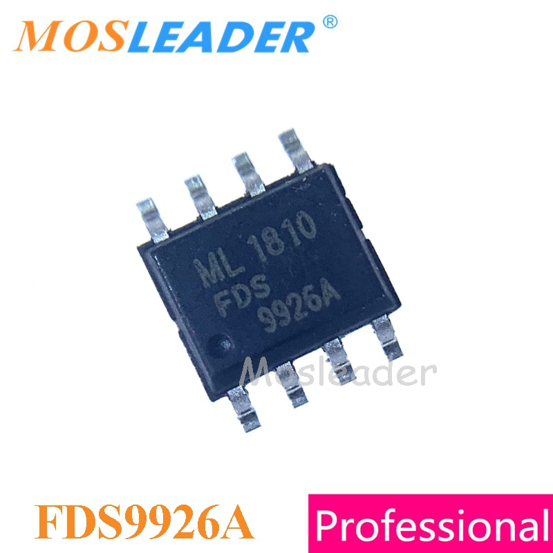 FDS9926A FDS9926 SOP8 500 قطعة 1000 قطعة المزدوج N-قناة 2.5V 9926 عالية الجودة