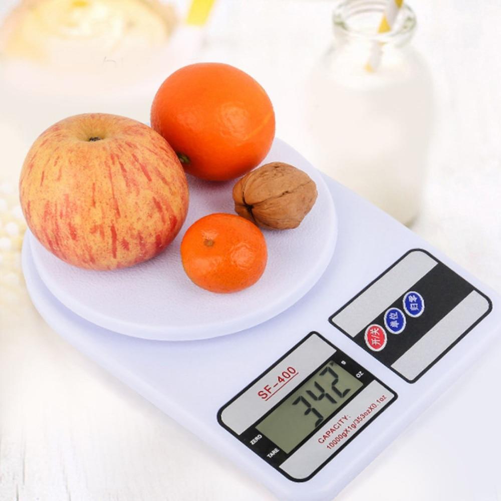 Кухонные электронные весы с цифровым ЖК-дисплеем, кухонные бытовые весы