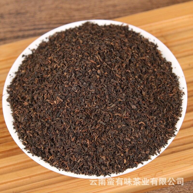 يوننان بوير الشاي المطبوخ ، الشاي المكسور ، تيباج ، زراعة الشاي العشبية ، حليب الشاي مصدر المنشأ ضمان الجودة DCMY