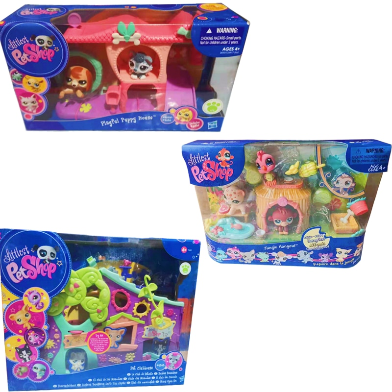 Фигурки Hasbro LPS для домашних животных, оригинальные маленькие фигурки кошек, игрушечные мини-фигурки