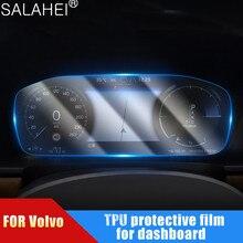 Film protecteur décran de tableau de bord de voiture de TPU pour Volvo XC60 S90 2017 2018 2019 2020 lumière transparente anti-rayures